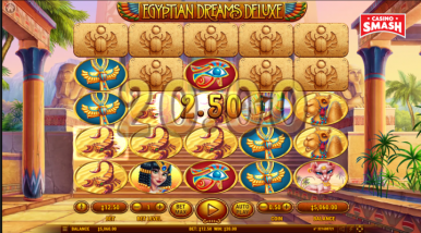 Online Slots Game Egyptian Dreams Deluxe