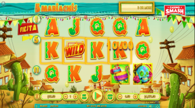 Online Slots Game 5 Mariachis