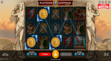Video Slot Machine Platinum Lightning Deluxe