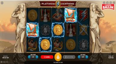 Online Slots Game Platinum Lightning Deluxe
