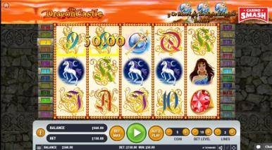 Online Slots Game Dragon Castle