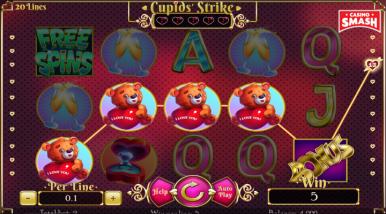Video Slot Machine Cupid's Strike
