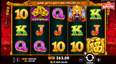 Online Slots Game Master Chen's Fortune