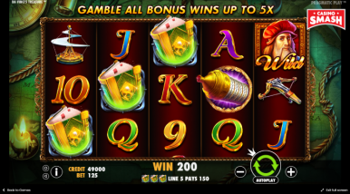Da Vinci's Treasure Slots On Line