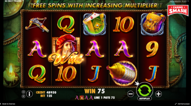 Online Slots Game Da Vinci's Treasure