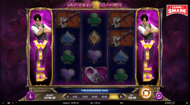 Video Slot Machine Street Magic