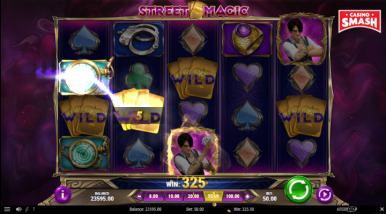 Online Slots Game Street Magic