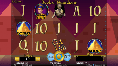 Book of Guardians Slots