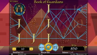 Book of Guardians Slots On Line