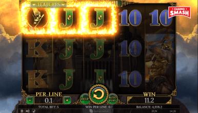 Video Slot Machine Demi Gods II