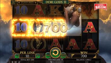Online Slots Game Demi Gods II
