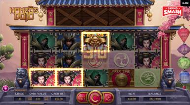 Online Slots Game Hanzo's Dojo