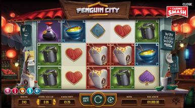 Video Slot Machine Penguin City