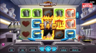 Online Slots Game Penguin City