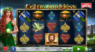 Video Slot Machine Celtic Goddess