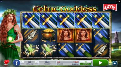Online Slots Game Celtic Goddess