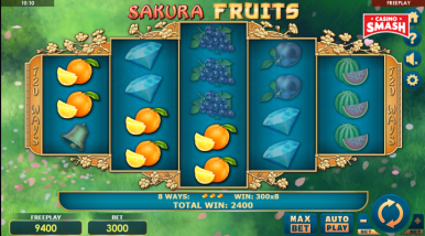 Sakura Fruits Slots