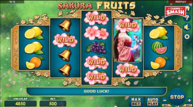 Online Slots Game Sakura Fruits