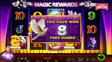 Magic Rewards Video Game