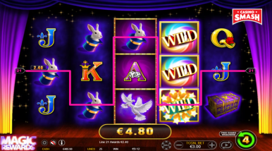 Online Slots Game Magic Rewards