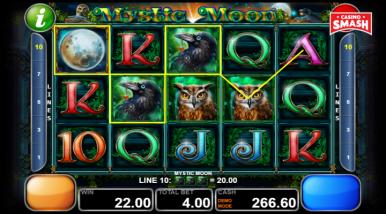 Online Slots Game Mystic Moon