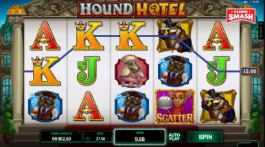 Video Slot Machine Hound Hotel