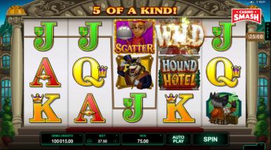 Online Slots Game Hound Hotel