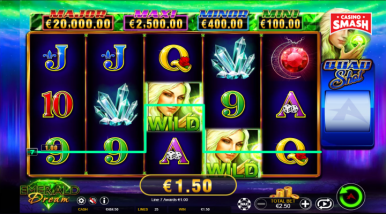 Video Slot Machine Emerald Dream