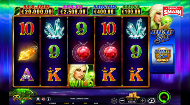 Online Slots Game Emerald Dream
