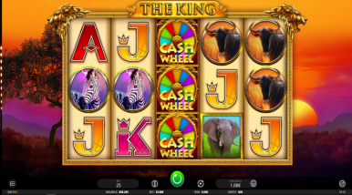 Video Slot Machine The King