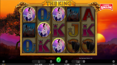 Online Slots Game The King