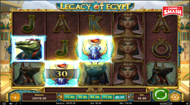 Video Slot Machine Legacy of Egypt