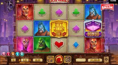 Video Slot Machine Lucha Maniacs
