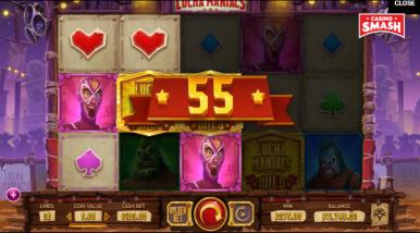 Online Slots Game Lucha Maniacs