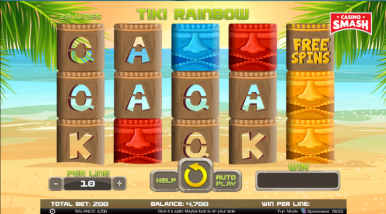 Tiki Rainbow Video Game