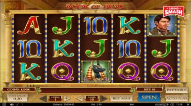 Video Slot Machine Book of Dead