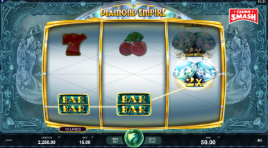Online Slots Game Diamond Empire