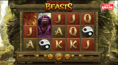 Video Slot Machine Four Divine Beasts