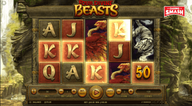 Online Slots Game Four Divine Beasts