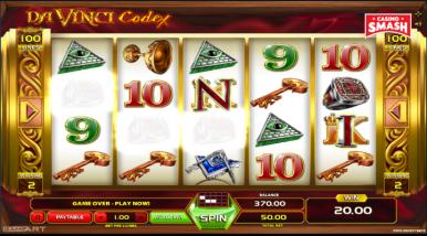 Video Slot Machine Da Vinci Codex