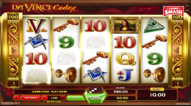 Da Vinci Codex Slots
