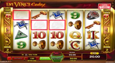 Da Vinci Codex Slots On Line