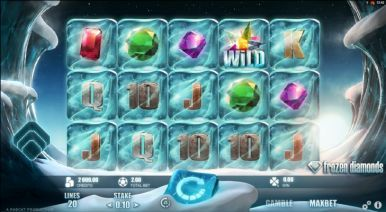 Online Slots Game Frozen Diamonds