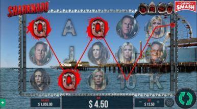 Video Slot Machine Sharknado