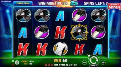 Online Slots Game The Champions