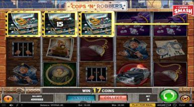 Video Slot Machine Cops'n'Robbers