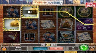 Online Slots Game Cops'n'Robbers