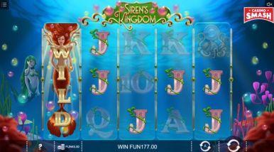 Online Slots Game Siren's Kingdom