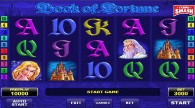 Video Slot Machine Book of Fortune