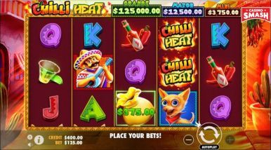 Video Slot Machine Chilli Heat